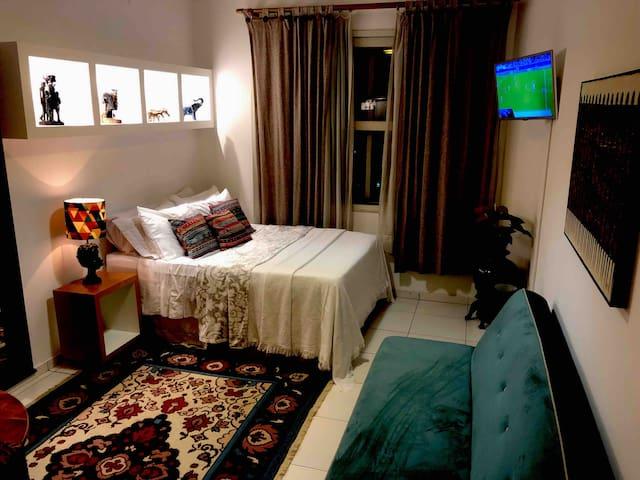 Apartamento inteiro Décor África.