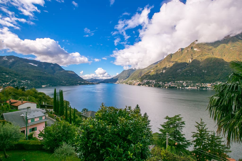 Lake Como, one of the most beautiful lakes in the world