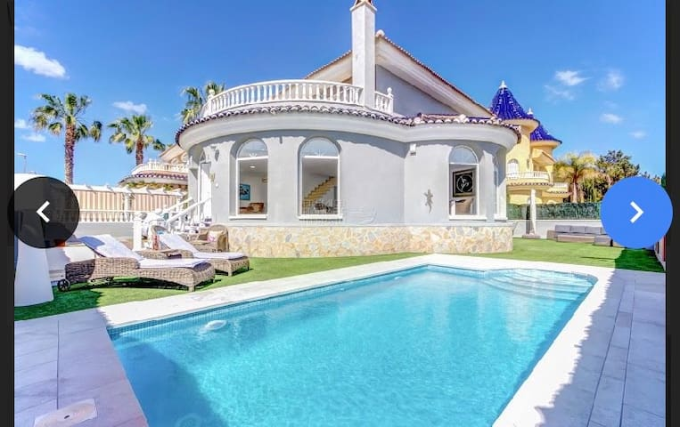 My villa is called A lucida & built by Euromarina