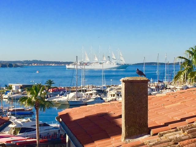 T3 en duplex avec terrasses vue mer et sur le port - Sanary-sur-Mer - Apartamento