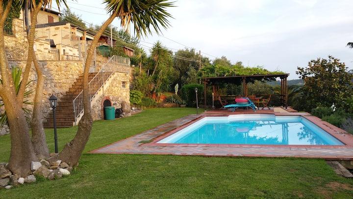 Casa Marina con piscina ad uso esclusivo