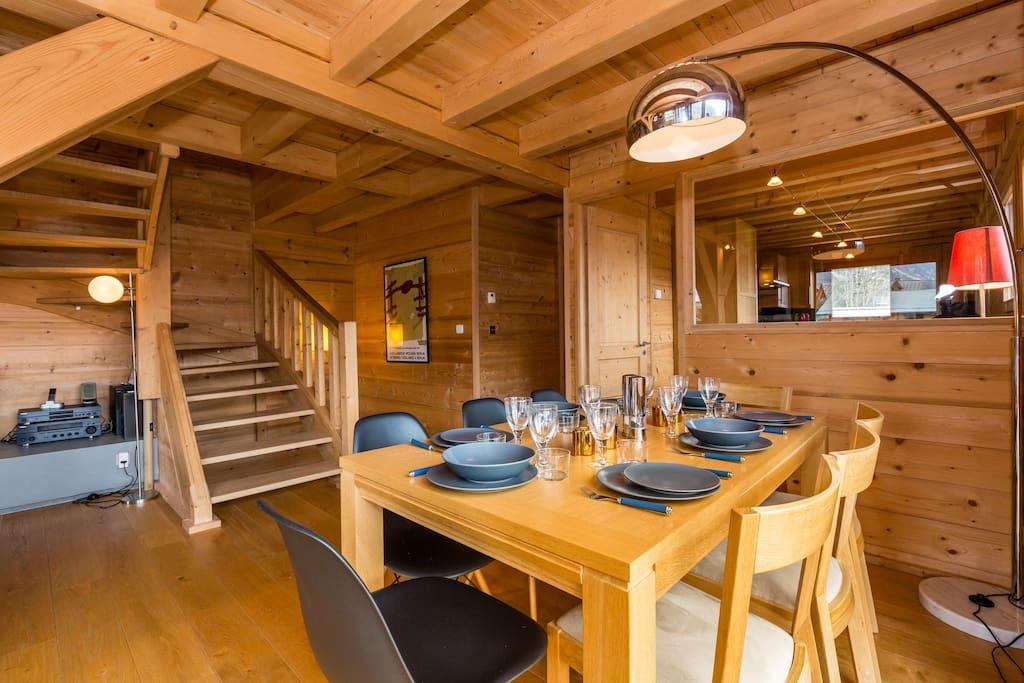 Chalet haut de gamme les plans d 39 en haut sauna chalets for Concepteurs de plans haut de gamme