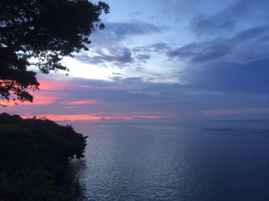 Getaway to paradise....