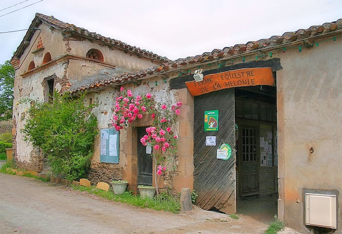 Relais  équestre de la Vieille maison, - Sainte-Gemme