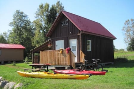 Clean & Cozy, A Couple's only Getaway,River access - Bancroft - Chatka