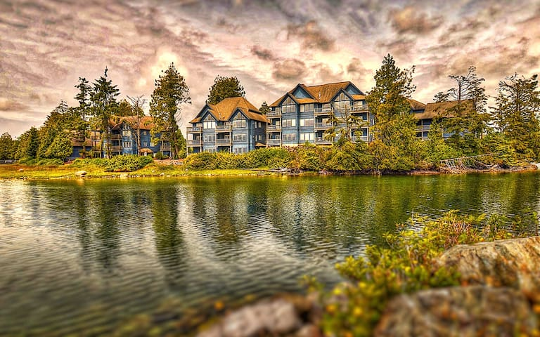 Peaceful location in Ucluelet,BC right on the water.