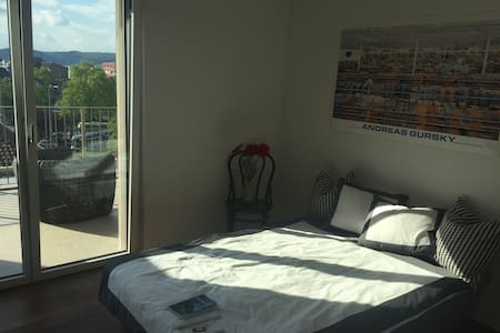 Room in attic floor apartment with beautiful view - Zurigo