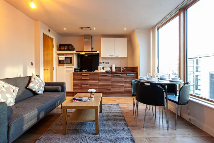 Sheffield City Centre Lovely Apartment + Parking