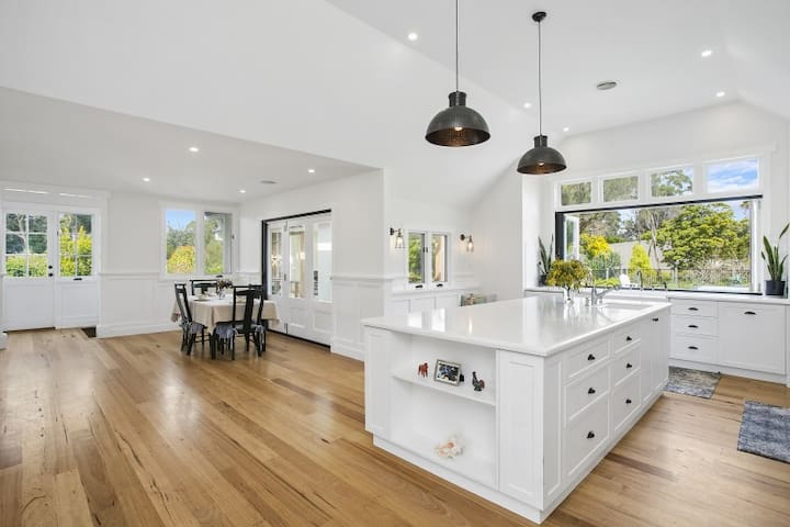 You will not want to leave this amazing kitchen
