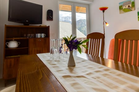 Apartment in a charming village for 2 - Rateče