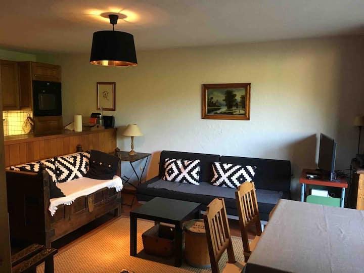 Appartement cosy ( 40 m2) + jardin