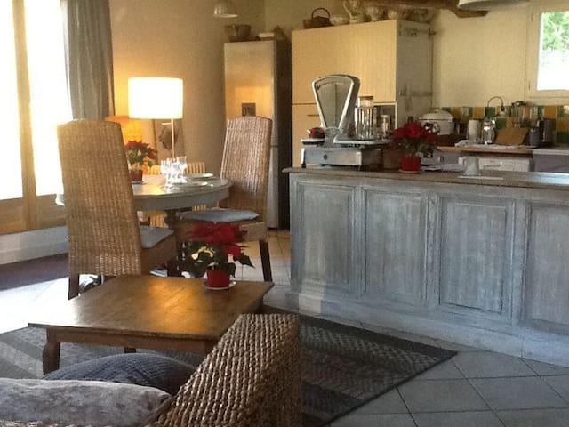 En sologne, maison à louer près de chambord