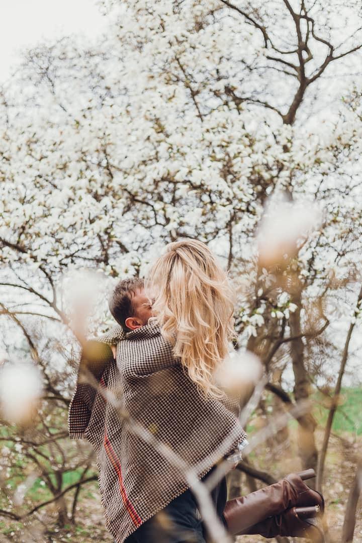 Любовь в ботсаду. Весеннее цветенье