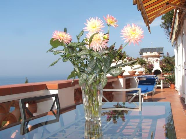Villa Libeccio on the sea