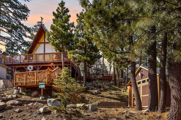 Cabin - Excellent Scenic Views - trails - Hot Tub