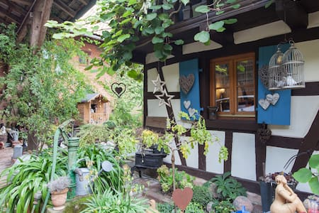 At Hansel & Gretel, gîte (cottage) - Mittelhausen - บ้าน