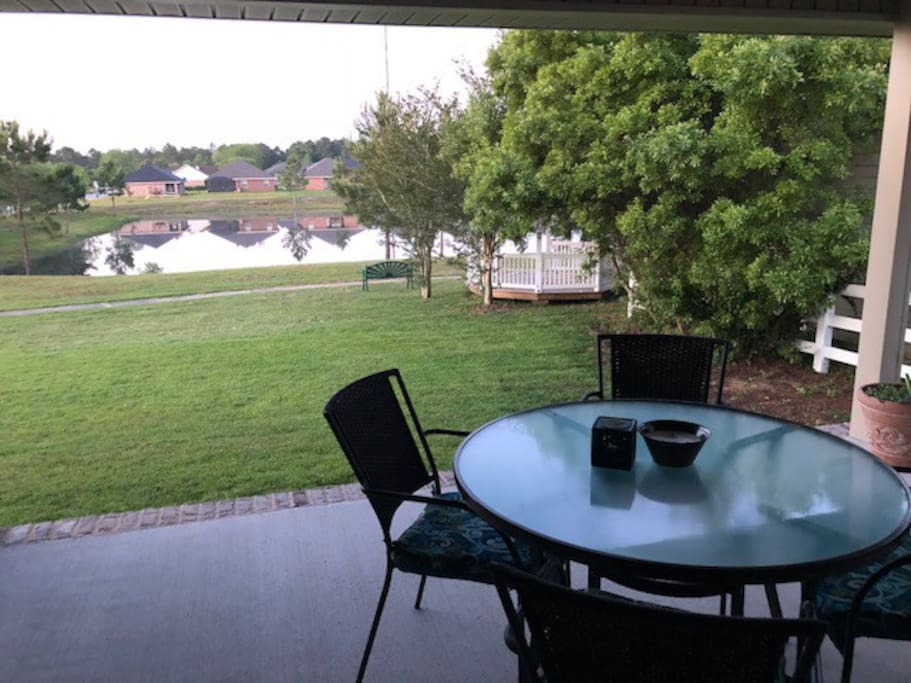 Back Patio View