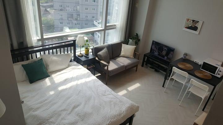 멋진 도심전망/서울역 3분/복층의 로망
