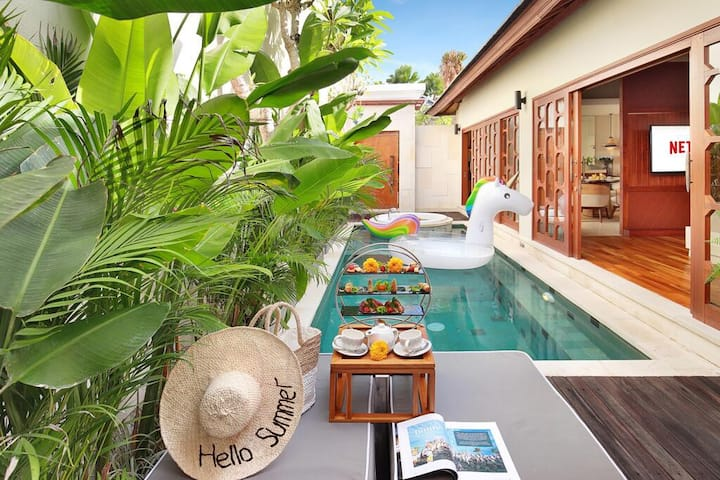 Honeymoon Vibe 1Bedroom Villa with Jacuzzi in Ubud