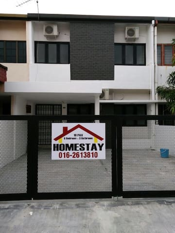 NEW! Cozy 5 BR house for 10 guests - Ipoh - House