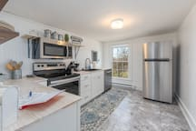 Fully renovated kitchen with full size appliances, including dishwasher!