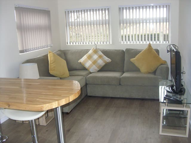 Lounge Area with Sofa Bed