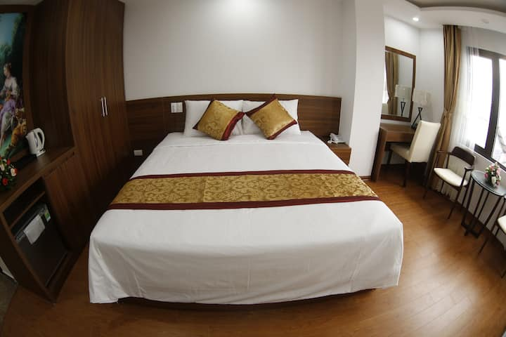 Double bed room Bao Ngoc Diamond hotel Cao Bang