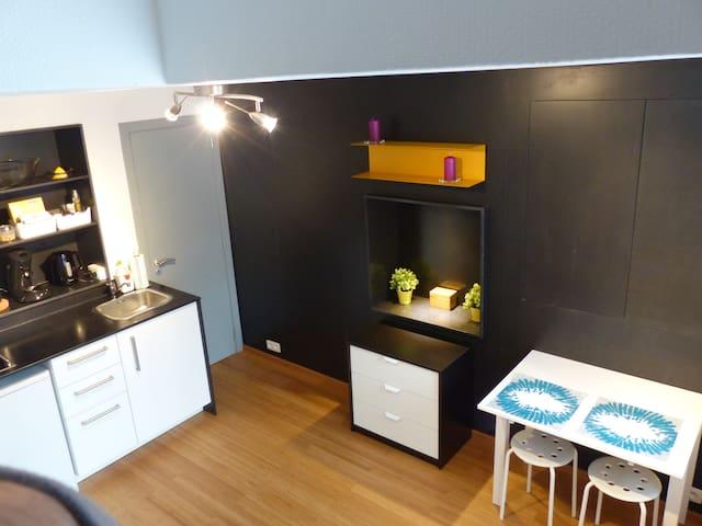 Petit studio de ville, bien situé, quartier calme. - Liège - Byt