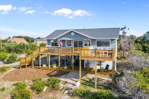 *-Relaxing-2nd Row Ocean View-Single Family Home-*