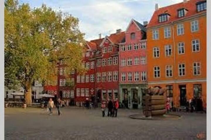 Room in central Copenhagen
