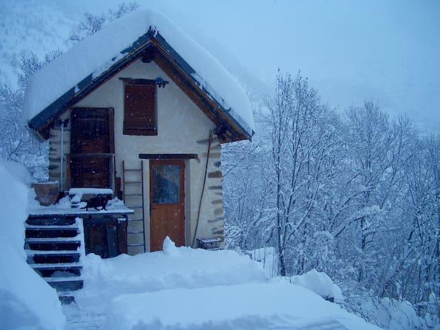Petite Maison, 2 pers. à proximité des 2 alpes - Le Freney-d'Oisans - Hus