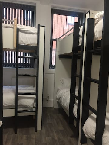 One Bed in 8 Female Bunk Bed Dormitory Room