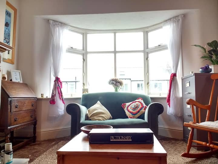 Single room with private work space off A6