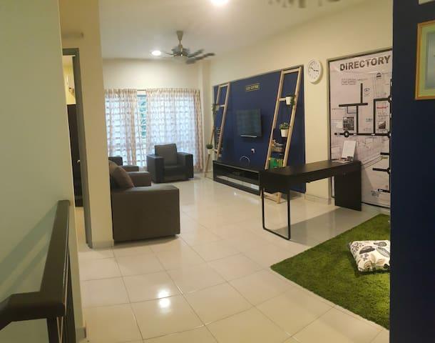Cozy Cottage B0103A  @ Bayu Nilai 20-25分钟到吉隆坡机场