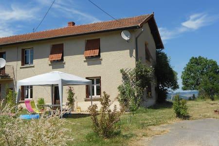 maison de campagne lac des sapins - Ronno - House