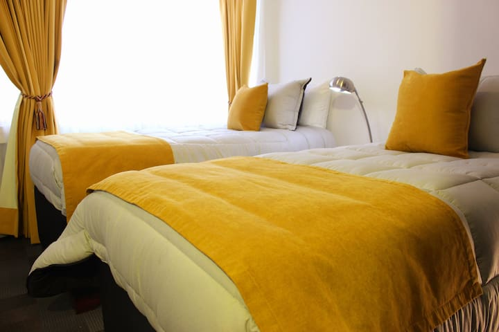 ⭐New! Twin bed Room Bogota Downtown Candelaria⭐