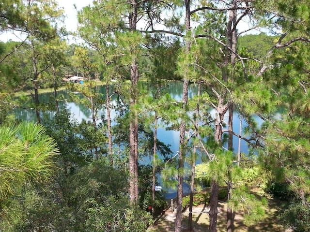 Private Blue Lake Cottage Near G'Ville FL