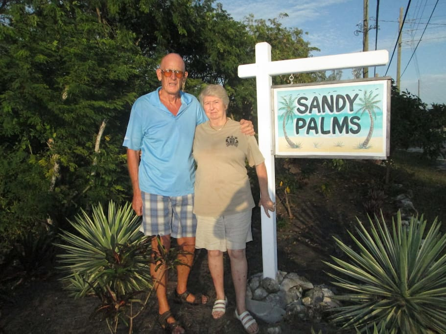 Betty & Peter Welcome You to Sandy Palms