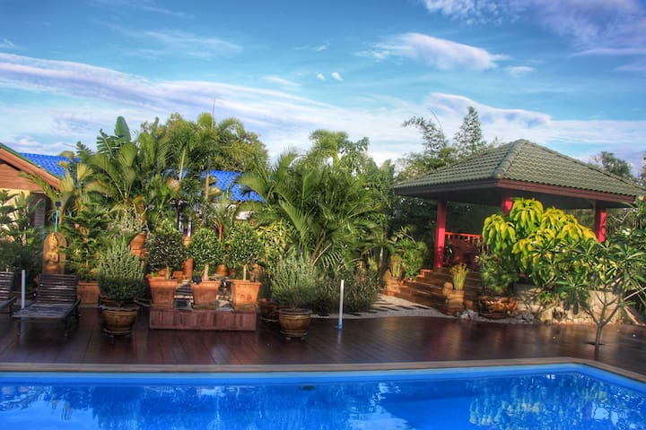 living in paradise - ideal for long term holidays - Chumphon - Apartemen