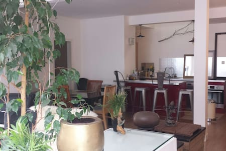 Spacious Loft : your 2 bedrooms/6 beds canal view - Paris - Loft