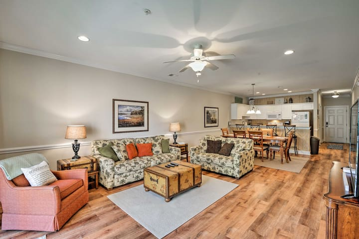 Murrells Inlet Condo w/Pool Access-1 Mile to Beach