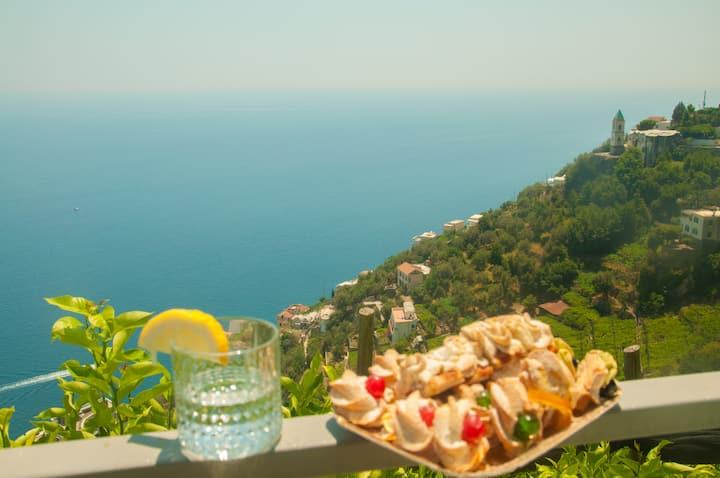 "Relaxing home ""Nausicaa"" in Amalfi"