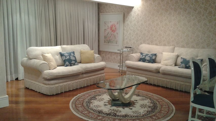 Apartment in Moema with hotel serv.