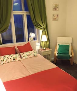 Cozy room and comfortable bed in city center - Pis