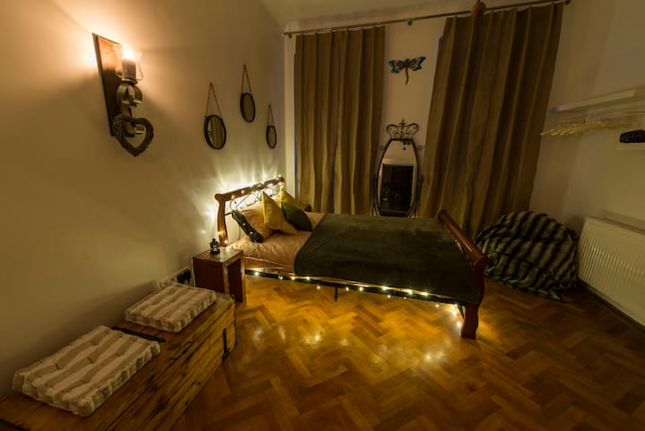 Homey Dragonfly Studio located in City Center - Sibiu - Leilighet