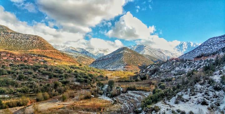 Atlas Mountains views