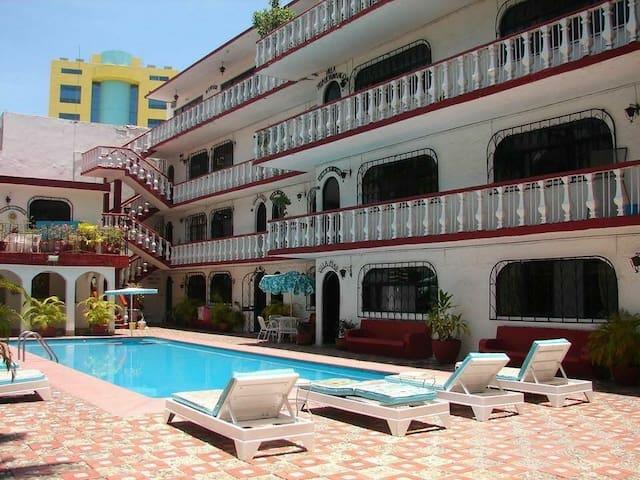 Se renta departamento en acapulco a 100 mt del mar