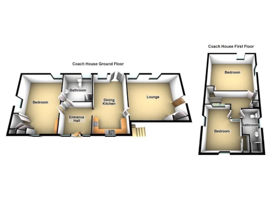Coach House Layout