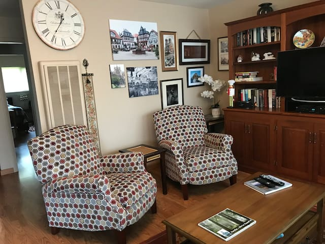 2 new recliners for relaxing