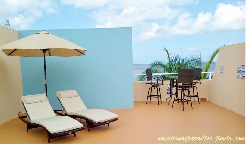 Vistamar Oceanfront Mini Penthouse - Aguadilla - Departamento